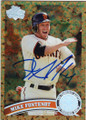 MIKE FONTENOT SAN FRANCISCO GIANTS AUTOGRAPHED BASEBALL CARD #60414A