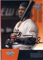 BARRY BONDS SAN FRANCISCO GIANTS AUTOGRAPHED BASEBALL CARD #60414D