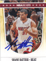 SHANE BATTIER MIAMI HEAT AUTOGRAPHED BASKETBALL CARD #60414E