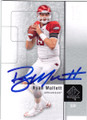 RYAN MALLETT ARKANSAS RAZORBACKS AUTOGRAPHED ROOKIE FOOTBALL CARD #60714G