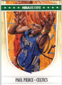 PAUL PIERCE BOSTON CELTICS AUTOGRAPHED BASKETBALL CARD #60914A