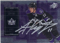 ANZE KOPITAR LOS ANGELES KINGS AUTOGRAPHED HOCKEY CARD #61114H
