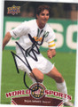 DEJAN JAKOVIC UNIVERSITY OF ALABAMA BLAZERS AUTOGRAPHED SOCCER CARD #61214A