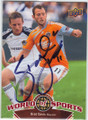 BRAD DAVIS ST LOUIS UNIVERSITY BILLIKENS AUTOGRAPHED SOCCER CARD #61314K