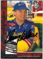 KENNY WALLACE AUTOGRAPHED NASCAR CARD #61314L