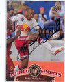 THEIRRY HENRY NEW YORK RED BULLS AUTOGRAPHED SOCCER CARD #61314N