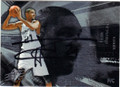 TIM DUNCAN SAN ANTONIO SPURS AUTOGRAPHED BASKETBALL CARD #61614A