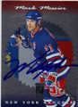 MARK MESSIER NEW YORK RANGERS AUTOGRAPHED HOCKEY CARD #61614B