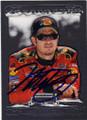 MARTIN TRUEX JR AUTOGRAPHED NASCAR CARD #61714E