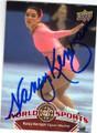 NANCY KERRIGAN AUTOGRAPHED OLYMPIC FIGURE SKATING CARD #61714G