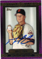 MATT CAIN SAN FRANCISCO GIANTS AUTOGRAPHED BASEBALL CARD #61814A
