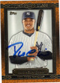 ROBINSON CANO NEW YORK YANKEES AUTOGRAPHED BASEBALL CARD #62114E