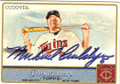 MICHAEL CUDDYER MINNESOTA TWINS AUTOGRAPHED BASEBALL CARD #62714i