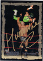THE HURRICANE AUTOGRAPHED WRESTLING CARD #70714B