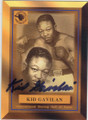 KID GAVILAN AUTOGRAPHED BOXING CARD #71814A