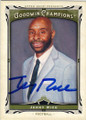 JERRY RICE MISSISSIPPI VALLEY STATE UNIVERSITY AUTOGRAPHED FOOTBALL CARD #71814C