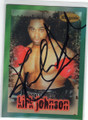 KIRK JOHNSON AUTOGRAPHED BOXING CARD #71814H