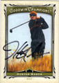 HUNTER MAHAN AUTOGRAPHED GOLF CARD #72214D