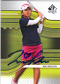 MIKA MIYAZATO AUTOGRAPHED ROOKIE GOLF CARD #72514B