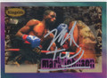 MARL TOO SHARP JOHNSON AUTOGRAPHED BOXING CARD #72514C