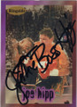 JOE HIPP AUTOGRAPHED BOXING CARD  #72514h