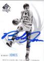 BOBBY JONES NORTH CAROLINA TAR HEELS AUTOGRAPHED BASKETBALL CARD #72514K