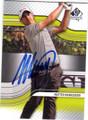 MATTEO MANASSERO AUTOGRAPHED GOLF CARD #72914B