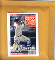 DEREK JETER NEW YORK YANKEES AUTOGRAPHED INSERT BASEBALL CARD #72914F