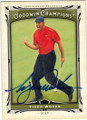 TIGER WOODS AUTOGRAPHED GOLF CARD #72914H