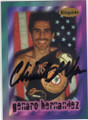 GENARO HERNANDEZ AUTOGRAPHED BOXING CARD #73014D