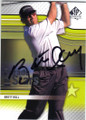 BRETT HULL RETIRED HOCKEY PLAYER AUTOGRAPHED GOLF CARD #73014F
