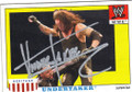 THE UNDERTAKER AUTOGRAPHED WRESTLING CARD #80114D
