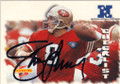 STEVE YOUNG SAN FRANCISCO 49ers AUTOGRAPHED FOOTBALL CARD #80214i