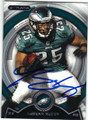LeSEAN McCOY PHILADELPHIA EAGLES AUTOGRAPHED FOOTBALL CARD #80414i