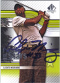 ALONZO MOURNING AUTOGRAPHED GOLF CARD #80514B