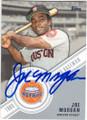 JOE MORGAN HOUSTON ASTROS AUTOGRAPHED BASEBALL CARD #80614F