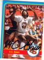 AC GREEN OREGON STATE AUTOGRAPHED BASKETBALL CARD #80614O