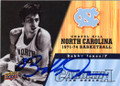 BOBBY JONES NORTH CAROLINA TAR HEELS AUTOGRAPHED BASKETBALL CARD #80814i