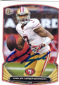COLIN KAEPERNICK SAN FRANCISCO 49ers AUTOGRAPHED FOOTBALL CARD #80814O