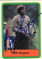 BILL ROGERS AUTOGRAPHED VINTAGE GOLF CARD #80914B