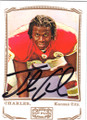 JAMAAL CHARLES KANSAS CITY CHIEFS AUTOGRAPHED FOOTBALL CARD #80914i