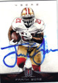 FRANK GORE SAN FRANCISCO 49ers AUTOGRAPHED FOOTBALL CARD #81414M