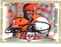 EMMANUEL ACHO UNIVERSITY OF TEXAS AT AUSTIN LONGHORNS AUTOGRAPHED ROOKIE FOOTBALL CARD #81414O