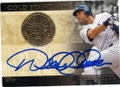 DEREK JETER NEW YORK YANKEES AUTOGRAPHED BASEBALL CARD #81914E