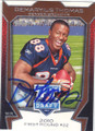 DEMARYIUS THOMAS DENVER BRONCOS AUTOGRAPHED ROOKIE FOOTBALL CARD #81914F