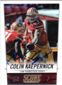 COLIN KAEPERNICK SAN FRANCISCO 49ers AUTOGRAPHED FOOTBALL CARD #82314B