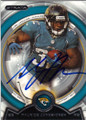 MAURICE JONES-DREW JACKSONVILLE JAGUARS AUTOGRAPHED FOOTBALL CARD #82814B