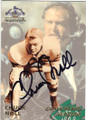 CHUCK NOLL CLEVELAND BROWNS & PITTSBURGH STEELERS AUTOGRAPHED FOOTBALL CARD #82814D