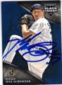 MAX SCHERZER DETROIT TIGERS AUTOGRAPHED BASEBALL CARD #90514A