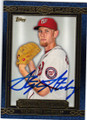 STEPHEN STRASBURG WASHINGTON NATIONALS AUTOGRAPHED BASEBALL CARD #90514i